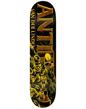 Anti Hero Daan Burning Rubber Pro Deck - 8.25