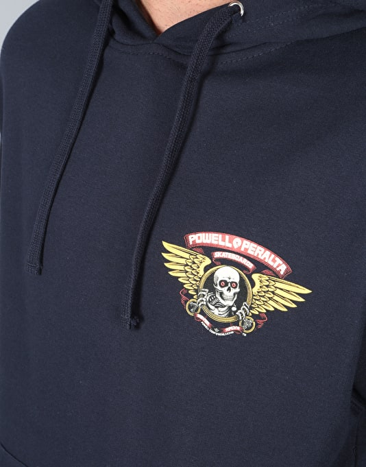 Powell Peralta Ripper Pullover Hoodie - Navy