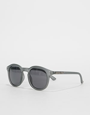 Santa Cruz Bank Sunglasses - Clear Charcoal