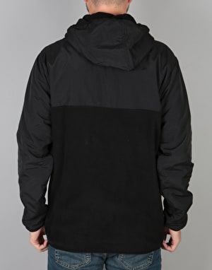 HUF Muir Hooded Pullover Jacket - Black