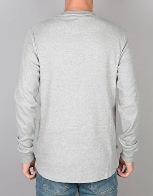 Nike SB L/S Thermal T-Shirt - Dk Grey Heather/Dark Steel Grey
