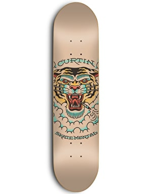 Skate Mental Curtin Tiger Pro Deck - 8