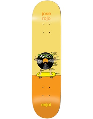 Enjoi Rojo Dingleballdom Skateboard Deck - 8.25