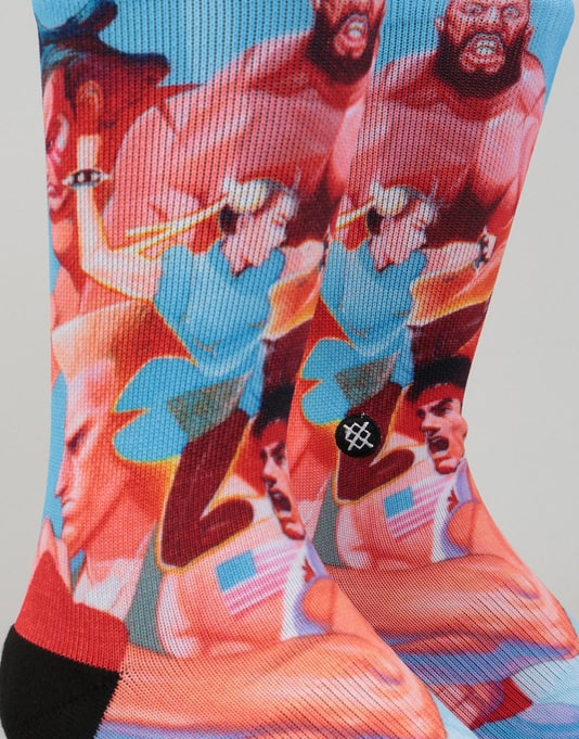 Stance x Street Fighter II Classic Pique Socks - Multi