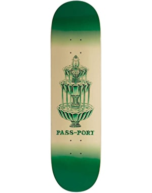 Pass Port Fountains For Life - Panthera Leo Skateboard Deck - 8.125
