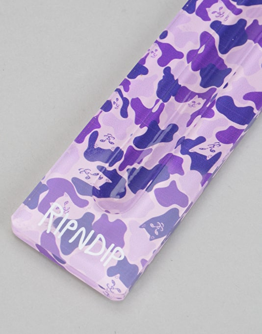 RIPNDIP City Burners Incense Holder - Purple Camo