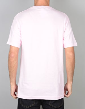 The Quiet Life Shhh Wavey T-Shirt - Pink