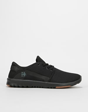 Etnies Scout Skate Shoes - Black/Black/Gum