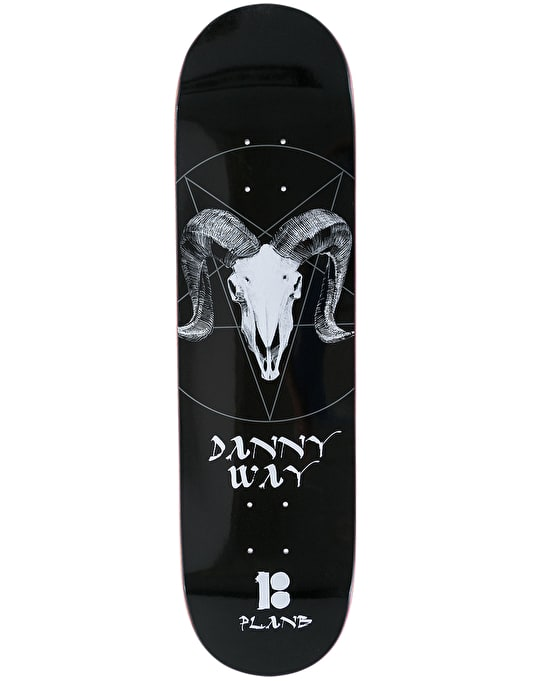 Plan B Way Darkness BLK ICE Skateboard Deck - 8.25""