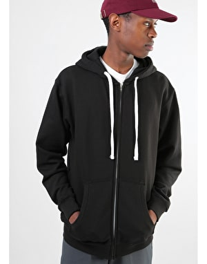 Original Pineapple Zip Hoodie - Black
