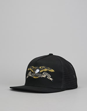 Anti Hero Eagle Emblem Trucker Cap - Black