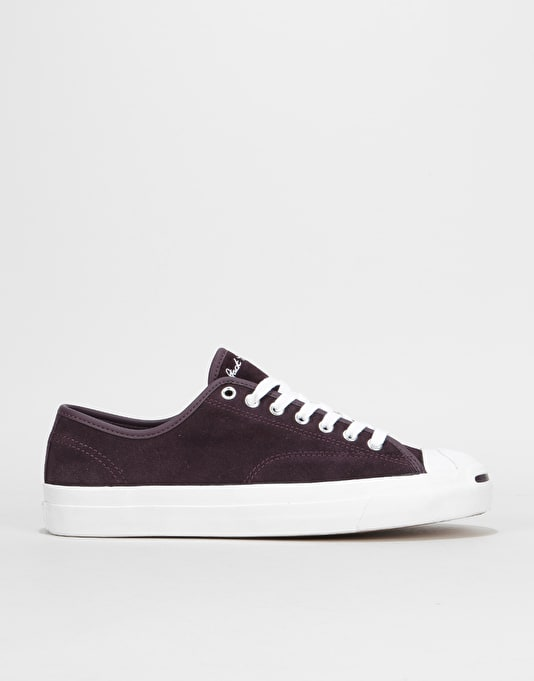 Converse Jack Purcell Pro Ox Skate Shoes - Black Cherry White White ... d1ff27ab7