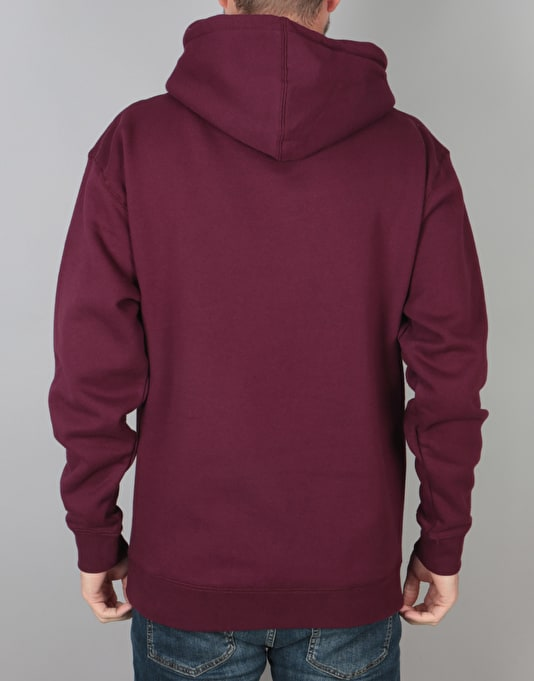 Thrasher Flame Pullover Hoodie - Maroon