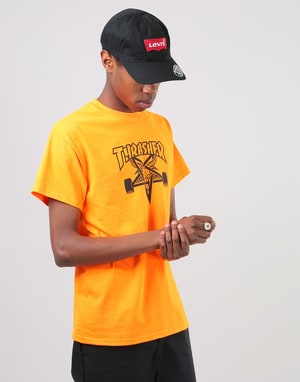 Thrasher Skategoat T-Shirt - Safety Orange