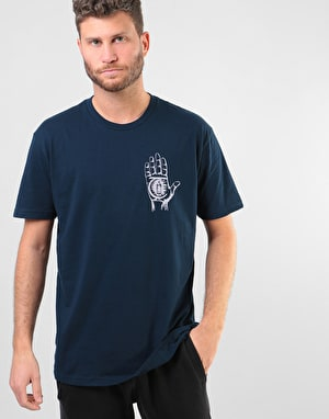 Theories Rasputin T-Shirt - Midnight Navy