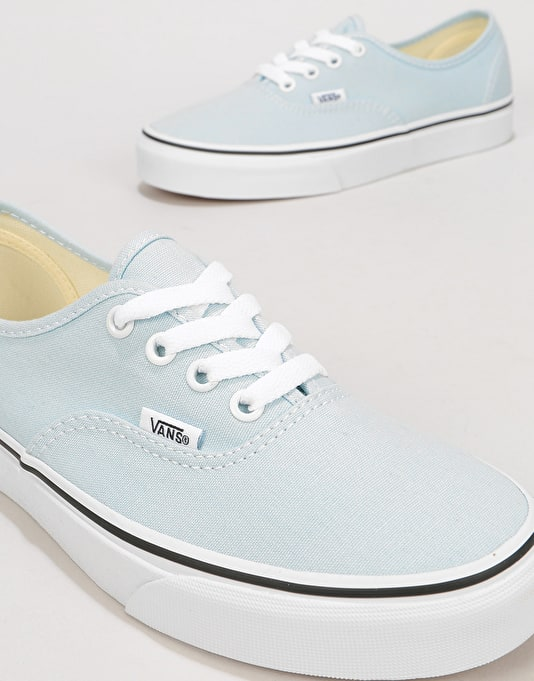 Vans Authentic Womens Trainers - Baby Blue/True White