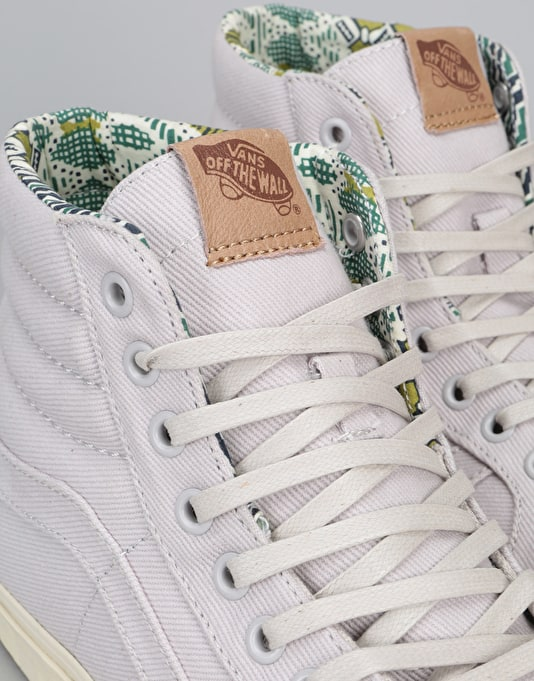 Vans Sk8-Hi Reissue DX Skate Shoes - (Twill) Wind Chime