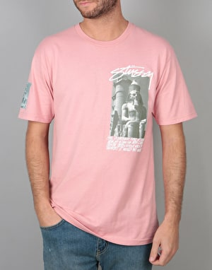 Stüssy Emperor T-Shirt - Dusty Rose