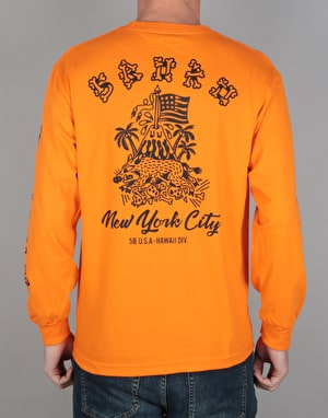 5Boro Hawaii Division L/S T-Shirt - Orange