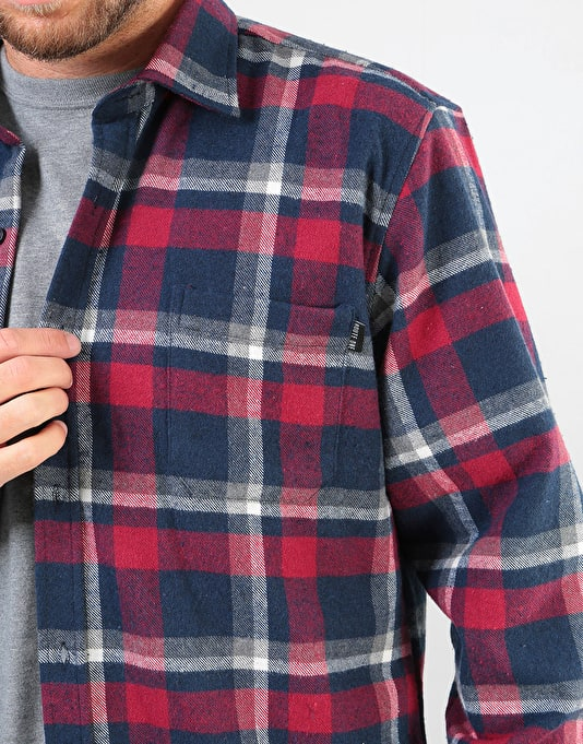 Route One Flannel Shirt - Red/Multi