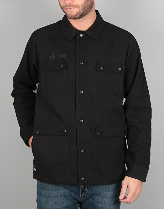 RIPNDIP Heaven And Hell Bomber Jacket - Black