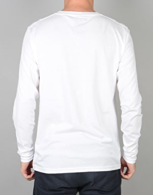 Landscape Clan L/S T-Shirt - White