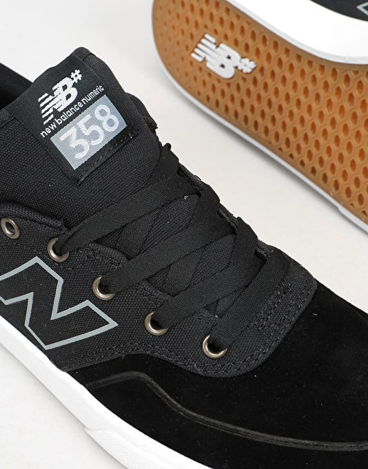 New Balance Numeric 358 Skate Shoes - Black