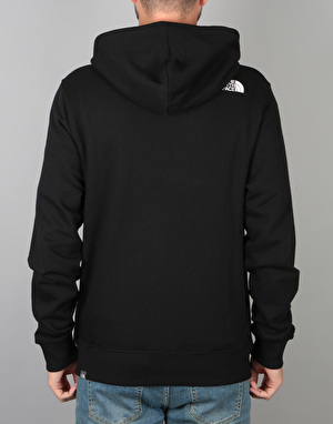 The North Face Open Gate FZ Hoodie - TNF Black/TNF White