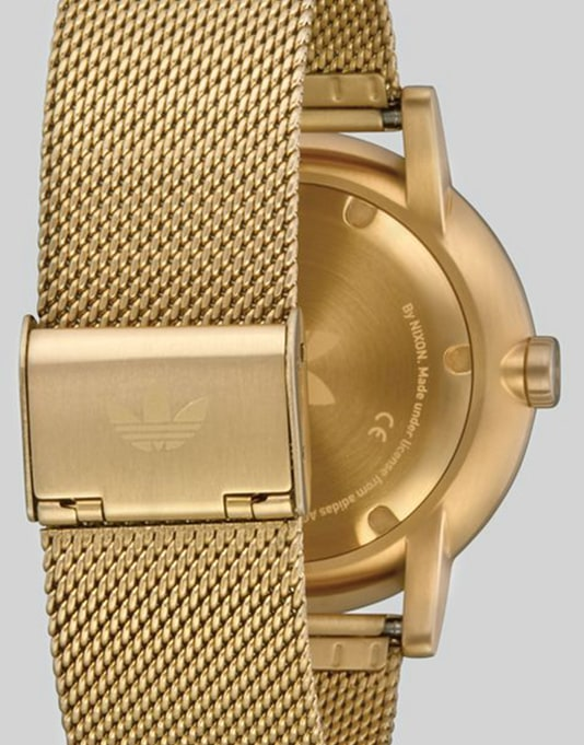 Adidas District M1 Watch - All Gold