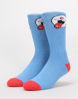 RIPNDIP Pill Socks - Baby Blue