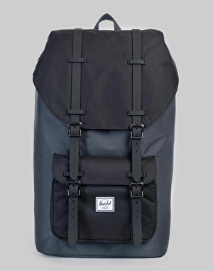 Herschel Supply Co. Little America Backpack - Dark Shadow/Black/Black