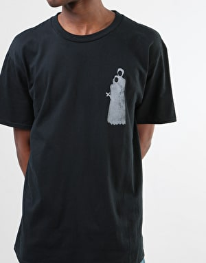 The National Skateboard Co. Pray by Mike O'Shea T-Shirt - Black