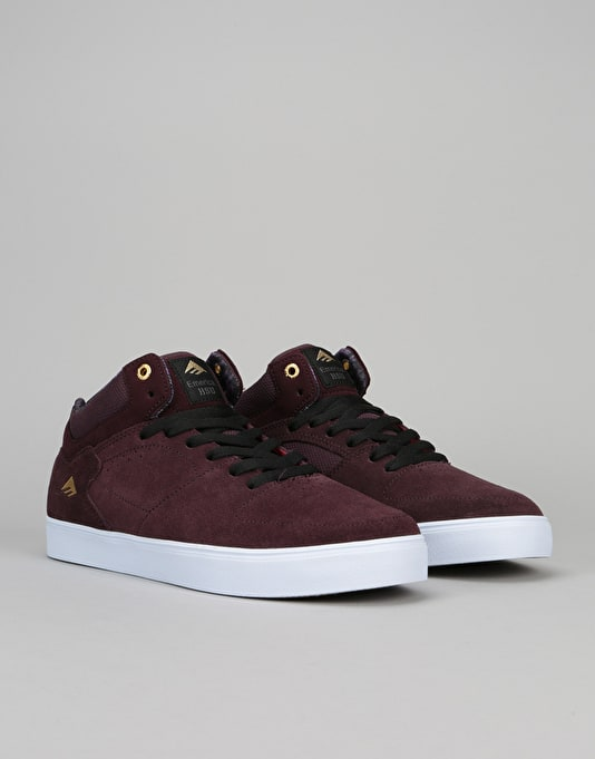 Emerica The Hsu G6 Skate Shoe - Purple/White