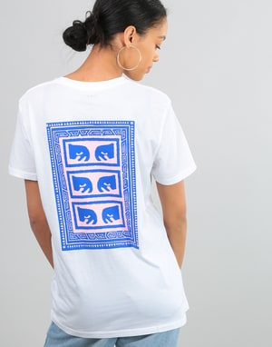 Obey Womens Flashback T-Shirt - Optic White