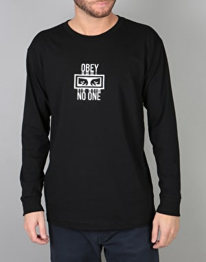 Obey No One L/S T-Shirt - Black
