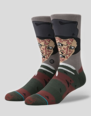 Stance x Legends Of Horror Freddy Krueger Socks - Black