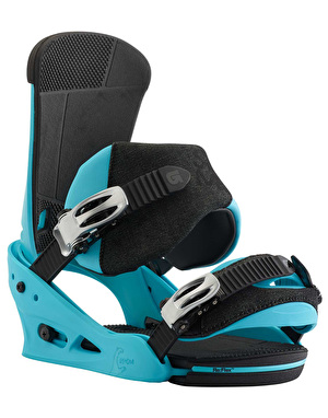 Burton Custom Re:Flex 2018 Snowboard Bindings - CS Blue
