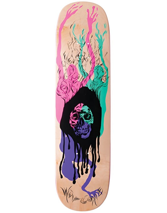Welcome Here It Comes on Amulet Skateboard Deck - 8.125""
