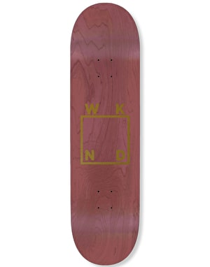 WKND Gold Logo Team Deck - 8