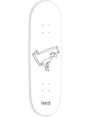 Pass Port Leunig Series - Bum Telescope Skateboard Deck - 8.25