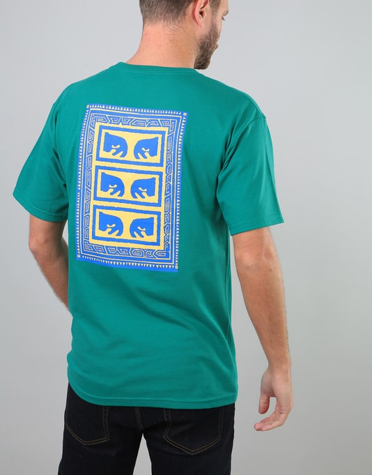 Obey Flashback T-Shirt - Teal
