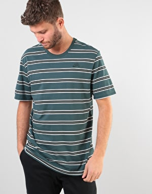 Nike SB Summer Stripe T-Shirt - Deep Jungle/Deep Jungle