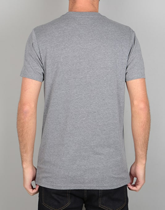 Vans OTW T-Shirt - Heather Grey/Rhubarb