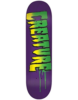 Creature Logo Stencil Team Deck - 8.8