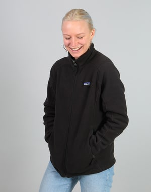 Patagonia Womens Classic Synchilla Jacket - Black