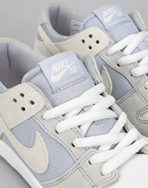 Nike SB Zoom Dunk Low Pro Skate Shoes - Wolf Grey/Summit White-Clear