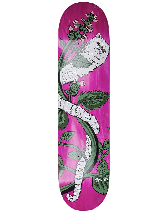 RIPNDIP Botanical Skateboard Deck - 8""