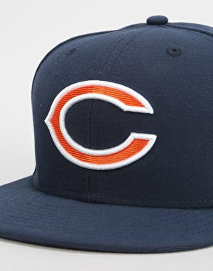 New Era 59Fifty NFL Chicago Bears Fitted Cap - Navy