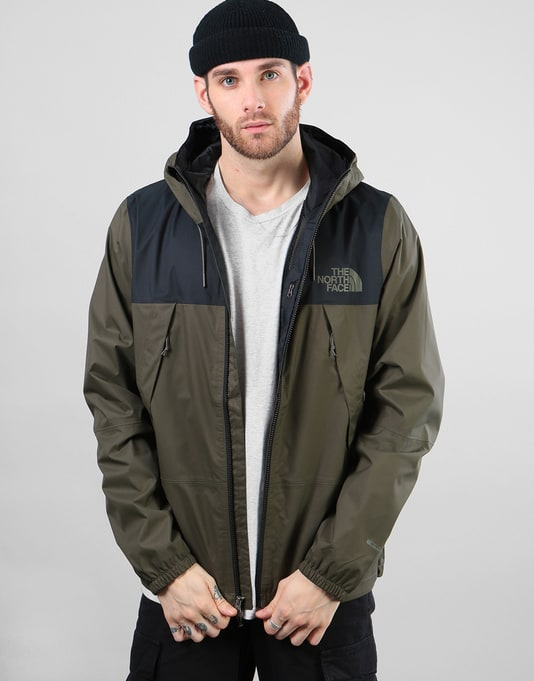 The North Face 1990 Mountain Q Jacket - TNF Black/New Taupe Green
