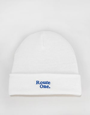 Route One Bambi Beanie - White